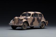 (ICM 35475)1/35欧宝K38轿车_静态模型爱好者--致力于打造最全的模型评测网站