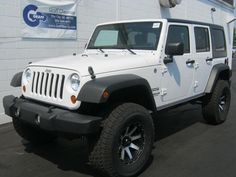 2012 Jeep Wrangler Unlimited under 16,000 miles. We have a nice selection of pre-owned Jeeps!