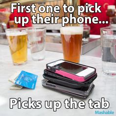 Funny. Give this social experiment a try.