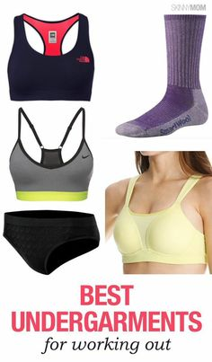 If you're heading to the gym, don't forget to wear these undergarments!