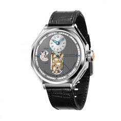 "Chronométrie by Ferdinand Berthoud, Winner of the ""Aiguille d'or"" Grand Prix Fancy Watches, Dream Watches, Luxury Watches, Cool Watches, Watches For Men, Ferdinand, Grand Prix, Tourbillon Watch, Renaissance"