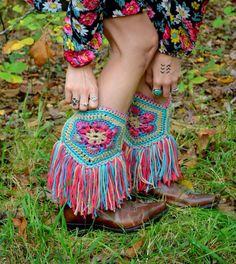 Hippie boots.