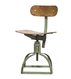 French Bienaise Drafting Chair on Chairish.com Drafting Chair, Wood Bar Stools, Living Spaces, French, Furniture, Design, Home Decor, Wooden Stools, Decoration Home