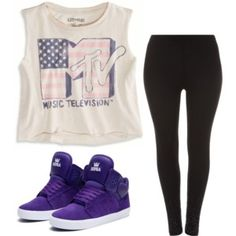 Simple Hip Hop Outfit