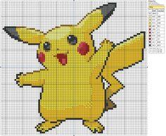 Pokémon – Pikachu 80-90 x 70-80, Birdie's Patterns, Gaming, M - P, Pikachu…