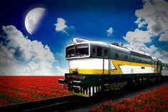 Train - work in Gimp