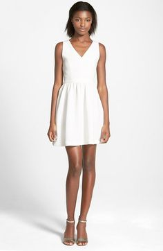 Soprano Bow Skater Dress available at #Nordstrom