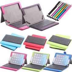 Removable Bluetooth Keyboard with Leather Case Cover For Apple iPad Air iPad 5