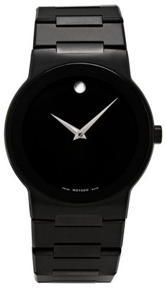 Movado Men's 605899 Safiro Black PVD Stainless-Steel Watch