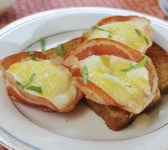 Pancetta Egg Cups ~ Italian Breakfast