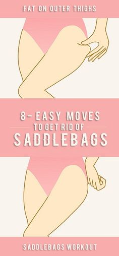 Saddlebags is the commonly given to deposits of fat located on the sides of the upper legs and the area directly below the buttocks. The problem stems from a lack of muscle in the glutes and hamstrings. With little muscle to support it, the excess fat in his area falls outwards and forwards to the …