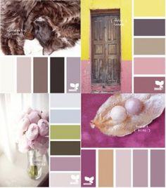 Dusky palettes - wedding inspiration
