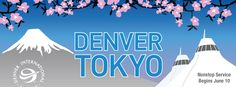 Tokyo, Japan makes 22 international destinations in eight countries with direct service from Denver International Airport: Germany, Iceland, the United Kingdom, Canada, Mexico, Costa Rica, Dominican Republic and Japan (starting June 10).
