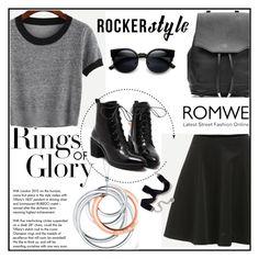 """Romwe 7"" by amra-f ❤ liked on Polyvore featuring Tiffany & Co., rag & bone, Sweet Romance and romwe"