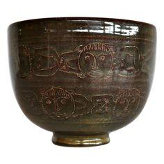 Edwin & Mary Scheier ceramic bowl