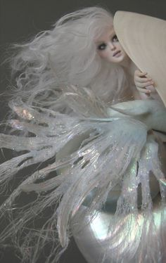An Ice Mermaid by Nicole West... This woman has SO much talent!
