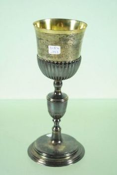 Caliz de plata y plata.dorada Siglo XX