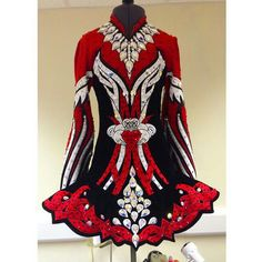 Celtic Solo Irish Dance Solo Dress Costume