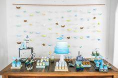 Aniversário barquinhos | festa em casa