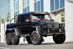 2013 #Mercedes #Benz #AMG G63 700Hp #Brabus Built Black & Red Beast!!!