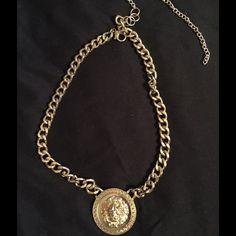 Gold Plated Lion Pendant Necklace