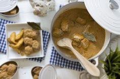 #receta #atun de #almabraba #encebollado: para niños y mayores del #blog #loleta #cocotte #lecreuset #recipe #spain #spanish