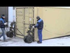 HETEK A wheels 507 - Shipping container trailer / casters