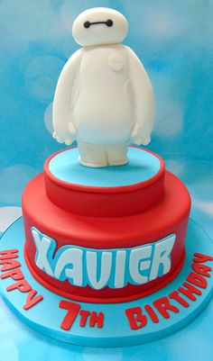 Disney's Big Hero 6 Cake