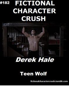 #182 - Derek Hale from Teen Wolf