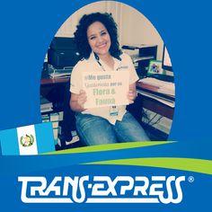 """Colaboradores TransExpress dicen:  """"#MeGustaGuatemala POR SU FLORA Y FAUNA"""" Andrea Gamas -Recursos Humanos"""