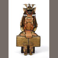 Bonhams 1793 : A gold lacquer armor Edo period, 18th-19th century