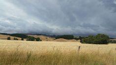 Approaching Storm Waipara New Zealand. S I .