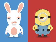 Rabbit Vs Minion
