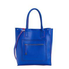 TALAS - SHOPPING BAG   #spring #woman #collection #bag #blue #carpisa