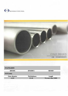cold-drawn-or-cold-rolled-high-precision-seamless-steel-tubes-20116389 by Shanghai Unite Steel Trading Co., Ltd. via Slideshare