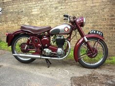 BSA C12 250cc ohv 1956 this was much better than the more modern version