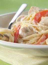 Chicken Alfredo Pesto Pasta   KitchenDaily.com