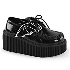 Batwing creepers! What more could a goth wish for?