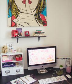 Mesa de estudos e trabalho Workstation
