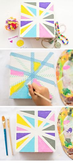Mothers Day Treasure Box | Easy Mothers Day Crafts for Kids to Make | DIY Birthday Gifts for Mom from Kids