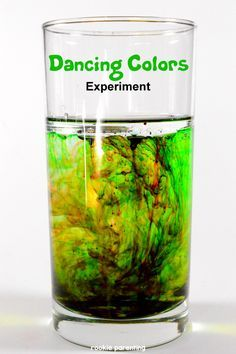Dancing Color | Diffusion Science Experiment For Kids