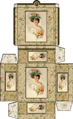 printable dollhouse heats boxs - j stam - Веб-альбомы Picasa