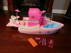 Barbie Dream Boat 1992. I got this for Christmas one year and I don't think I'll ever forget.