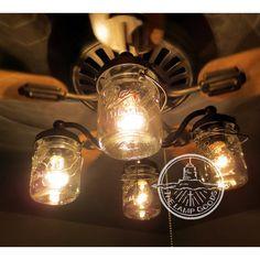 Mason Jar Ceiling Fan Light Covers Home Sweet Home