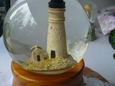Snow Globe Lighthouse Music Box Sailing Key West, FLorida $25 Buy now at www.etsy.com/shop/PioneerFundraiser
