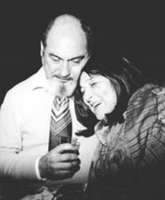 Dos genios: Mercedes Sosa y Armando Tejada Gómez.