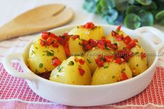 Batatas salteadas à moda espanhola | Receitas e Temperos