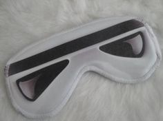 Freak Them Out Sleep Mask GALE FORCE  by FreakyOldWoman on Etsy