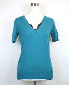 http://www.athenefashion.com/ebay/quick-ends-soon-850-new-authentic-gucci-womens-v-neck-sweater-top-lace-detail-teal-325280-3760/ awesome Quick Ends Soon $850 NEW Authentic Gucci Womens V-Neck Sweater Top Lace Detail Teal 325280 3760