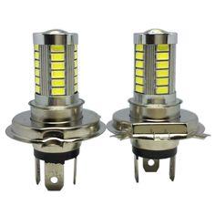 H4 LED 5630 33SMD Super Bright White Car Light Source Headlight DRL Fog Lights Bulb Lampada Led Carro LED 12V  SP08CE